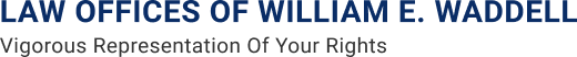 Logo of Law Offices of William E. Waddell